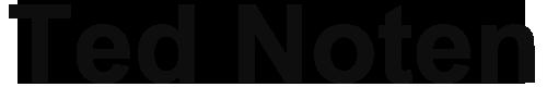 Ted Noten Logo